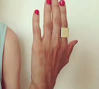 Стильное кольцо на фалангу 2 цвета