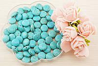 Бусины из натурального камня Бирюза (5штук) 12мм(товар при заказе от 500грн)