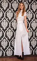 Платье №4/1 стрейч-коттон (длинное)