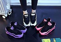 Женские стильные кроссовки. Три цвета: розовый, белый и сиреневый, фото 7