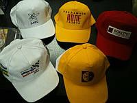 Печать логотипа на кепках бейсболках