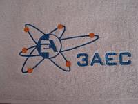 Вышивка логотипов на полотенцах, фото 1