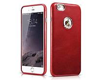 Чехол для iPhone 6/6s - Icarer Transformers Vintage Back Cover Series, красный