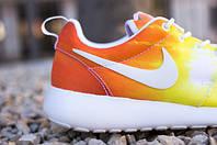 Женские кроссовки Nike roshe run sunset