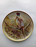 Тарелка ''Фазан охотничий''(подарки для коллекционеров)