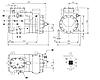 Холодильный компрессор FRASCOLD F5-25Y б/у (25.2 m3/h), фото 2