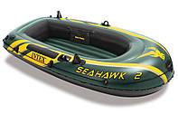 Надувная лодка Intex 68346 ,236х114x41 Seahawk-2
