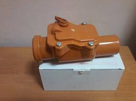 Обратный клапан пвх ду50 для канализации мпласт