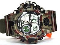 Годинник Skmei AD1029 green camouflag