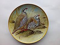 Тарелка ''Красная куропатка''(подарки для коллекционеров)