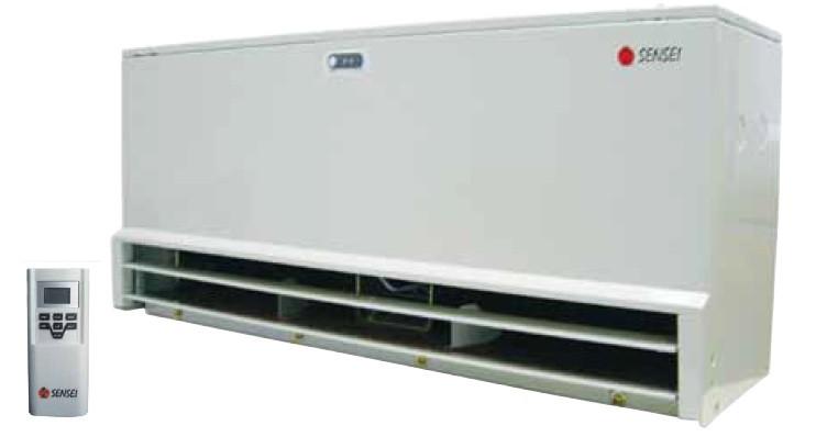 Воздушные тепловые завесы с водяным нагревом Sensei