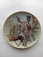 Тарелка ''Рябчик''(подарки для коллекционеров)