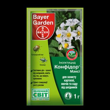 Инсектицид Конфидор® Макси (1 г) — против колорадского жука, тли, фото 2