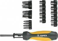 Насадки и сменные головки с держателем, набор 29шт (шт.) TOPEX (39D356)
