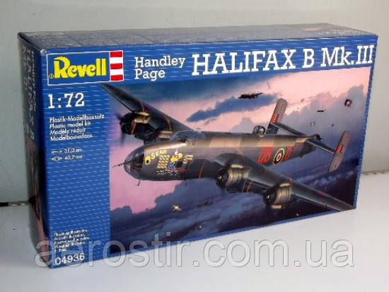 Halifax B Mk.III  1\72  Revell 04936