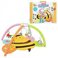 Детский музыкальный коврик Пчелка 898-31 HB