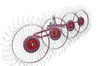 Грабли ворошилки на 4 колес