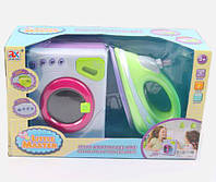 Стиральная машинка и утюг - детский игровой набор