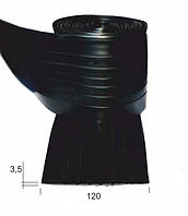 Защитный привальный брус (черн) 120мм