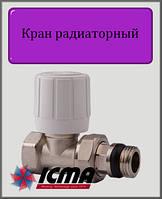"""Терморегулирующий вентиль 1/2"""" ICMA с ручным и термостатическим управлением (прямой)"""