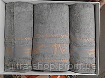 "Комплект полотенец баня-2лица ""Alber Collection"" бамбук Турция"