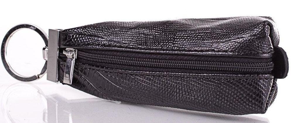Мужская кожаная ключница Desisan Shi200-2laz черный