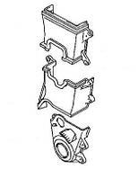 Крышка защиты ремня ГРМ (комплект) Geely СК / Geely МК