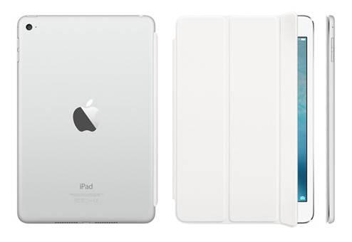 Белоснежный чехол из полиуретана Apple Smart Cover для iPad mini 4 диагональю 7.9 (White) MKLW2ZM/A