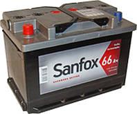 Автомобильный аккумулятор 6ст-66 Sanfox