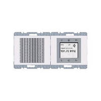 Сенсорне радіо (білий), Berker, Серія - К. 1, 28807009