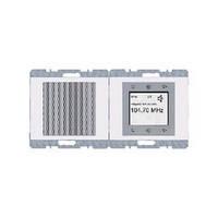 Сенсорное радио (белый), Berker, Серия - К.1, 28807009