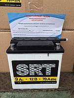 Мотоаккумулятор 9A/12V SRT кислотный