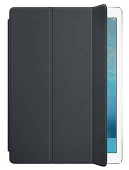 Чехол полиуретановый Apple Smart Cover для iPad Pro с дисплеем 12,9 дюйма MK0L2ZM/A серый