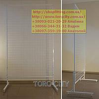 Сетка Торговая в Рамке  200 х 120 см, профиль 17  с ножками Украина, фото 1