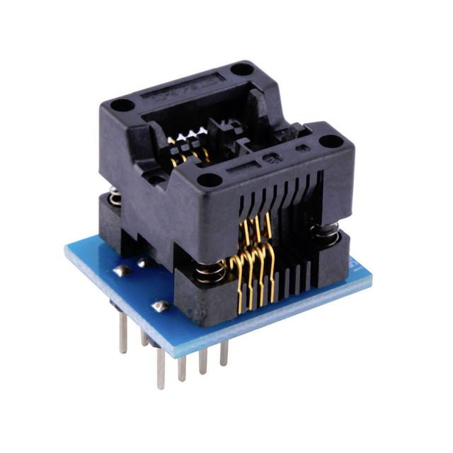 Адаптер для программатора SOP8-DIP8 24 25 93 FLASH EEPROM