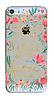 Пластиковый чехол для Iphone 5/5S c цветами