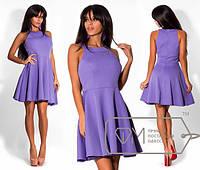 Платье женское фиолетовое АИ/-1223