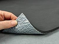 Шумоизоляция для автомобиля каучуковая 10мм Flex-optimal 10К  самоклейка, лист 75х100 см.