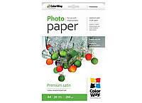 Фотобумага ColorWay микропор сатин (Формат: 10x15 (101x152 mm), Плотность: 260 г / м2 Количество в упаковке: 2