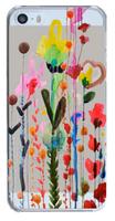 Пластиковый чехол для Iphone 5/5S цветами