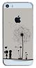Пластиковый чехол для Iphone 5/5S любовь