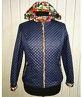 Женский пиджак-двойка (в цветах)