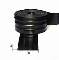 Защитный брус (черн) 60мм