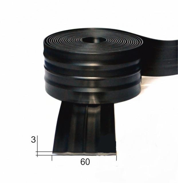 Защитный брус (черн) 60мм, фото 1