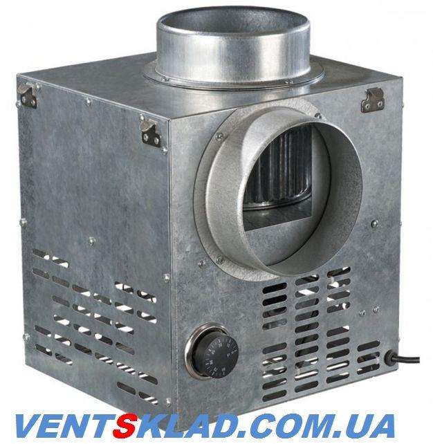 Высокотемператный вытяжной вентилятор каминный от 0-90 град., 35-44 Вт, 375-470 м3/час Вентс КАМ 160 ЕкоДуо