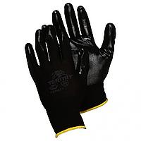 Перчатки нитриловым покрытием  ребристые Doloni