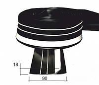 Защитный привальный брус 90мм, фото 1