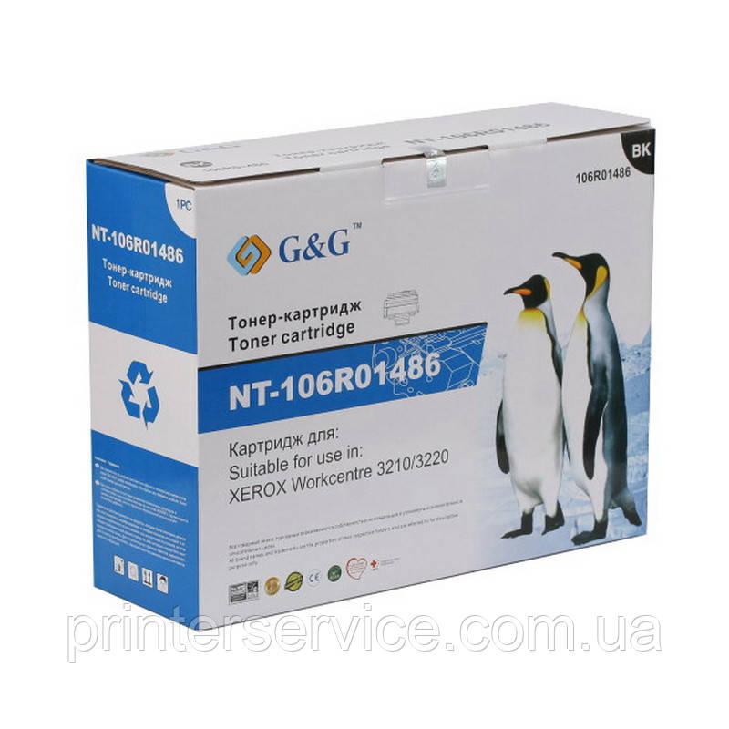 106r01487 совместимый картридж (аналог) для Xerox WC 3210/ 3220, G&G-106R01487 max black