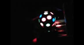 Вращающийся Диско Шар Led Cryst Almagic Ball Light K1 для вечеринок с флешкой и пультом