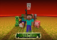 "Магнит сувенирный ""Minecraft"" 04"